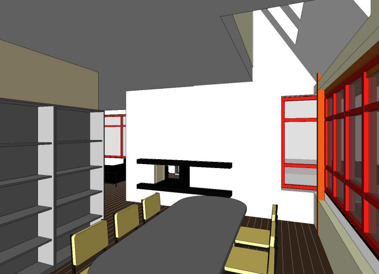 woonhuis-WT1-vloer-1---3D-View---eetkamer-zicht-op-woonkamer-2